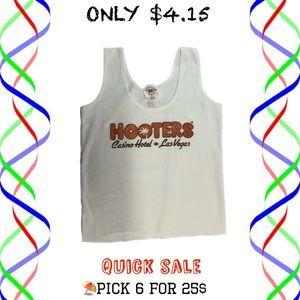 Bundle six for $25/hooters cropped tank top